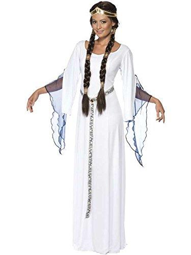 Damen Kostüm medieval, Größe m, weiß