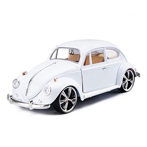 IVNGRI-Auto Model Automodell 1:18 Retro Classic Käfer Auto Simulation Legierung Druckguss Auto Modell Sammlung Spielzeug (Auto Kit Nissan Model)