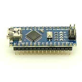 Noctronique Arduino Compatible Nano V3.0 ATmega328P-20AU Board