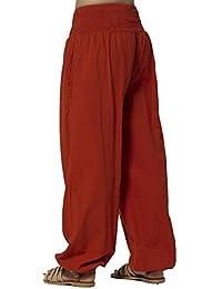 Coline - Pantalon femme coton fin style Aladin
