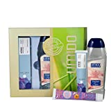 UMIDO Beautyset Hand-Lotion 45 ml Ringelblume, Duschgel 250 ml Spa & Fußcreme 45 ml 10% Urea- 2 x...