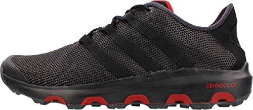 adidas Climacool Voyager, Chaussures de Sport Mixte Adulte, Multicolore, 7 UK Multicolore - Negro / Rojo (Negsom / Negbas / Rojpot)