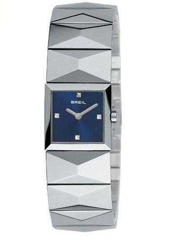 Breil 2519251814–Orologio con cinturino in resina per donna, colore: blu/grigio