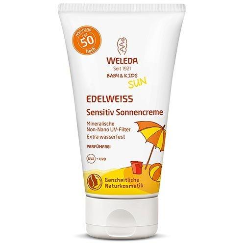 Weleda: Edelweiss Sensitiv Sonnencreme LSF 50 (50 ml)