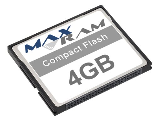 Maxram 4GB Compact Flash Speicherkarte (Compactflash-kit)