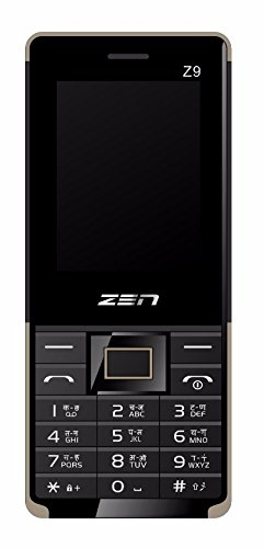 ZEN Z9 Bijli Dual SIM Feature Phone (Gold) image