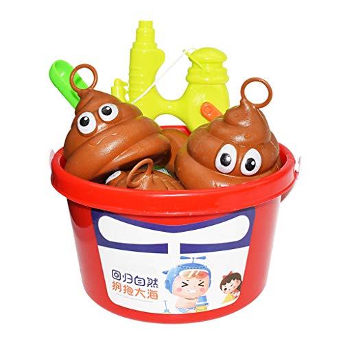 Sulifor Poo Bath Game Bath Fishing Game Meeresbiologisches kognitives Angeln für Kinder -