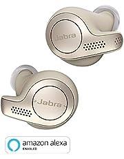 Jabra Elite 65t Alexa Enabled True Wireless Earbuds with Charging Case (Gold Beige)