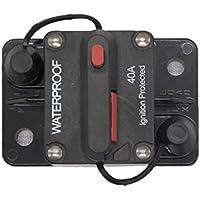 Sharplace Reinicio Manual con Portafusibles Interruptor de Desconectar - 40A