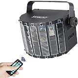 LED Lámpara etapa,SAHAUHY Luces Discoteca 9 Colores LED Lámpara de Luz de Escenario Sonido activado Con Mando a distancia