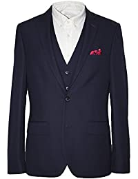 655c471adbf9 HARRY BROWN Dandy 3 Piece Slim Fit Suit in Navy