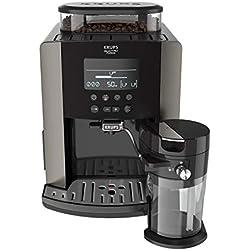 Krups Quattro Force Arabica Latte EA819E10 - Cafetera Superautomática