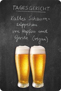 Bier Blechschilder (Tagesgericht Bier Blechschild Gewölbt Neu 20x30cm VS4955-1)