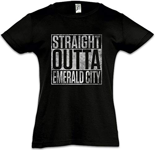 Straight Outta Emerald City Mädchen Kinder Kids T-Shirt