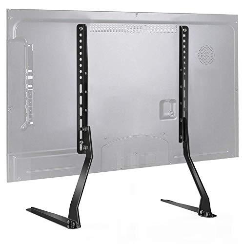 TV Standfuß - Höhenverstellbarer TV Ständer für 37-70 Zoll Flach&Curved Fernseher bis zu 50kg. max.VESA 600x400mm