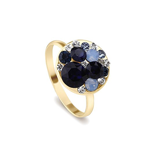 park-avenue-bague-disc-bleu-fonce-dore-made-with-crystals-from-swarovski