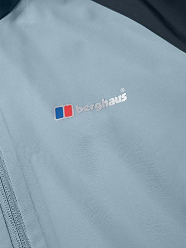 berghaus Paclite 2.0, Giacca Impermeabile Donna, Trade Winds/Carbon, S