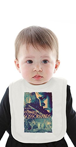 Edward Scissorhands movie poster Organic Baby Bib With Ties Medium -