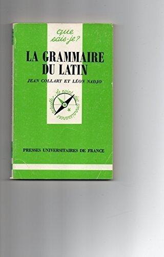 La grammaire du latin