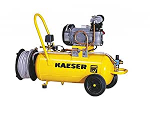 Kaeser premium 450/90D compresseur à air comprimé 20 m de tuyau de tambour