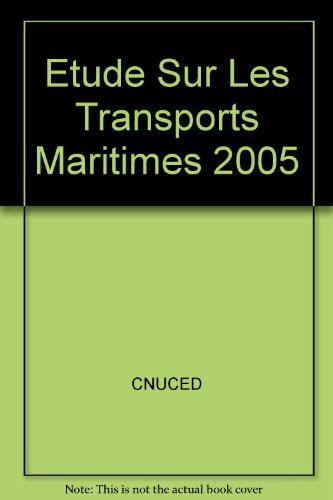 Etude sur les transports maritimes