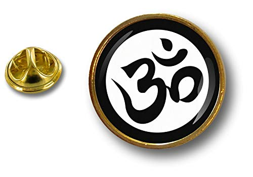 Akacha pin Flaggen Button pins anstecker Anstecknadel ohm om Hinduismus Hindu