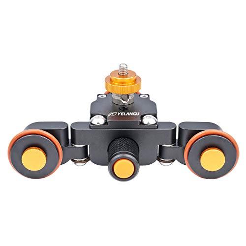 Shiwaki Motorisierte Elektrische Autodolly Pully Auto Rolling Track Slider Für DSLR Kameras -