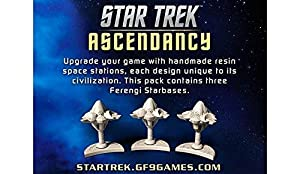 Gale Force Nine gf9st033 - Star Trek ascen Dancy: ferengi starbases