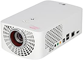 LG PF1500G Vidéoprojecteur LED DLP FHD 1920 x 1080 1400 Lumen VGA HDMI USB RJ45 Blanc