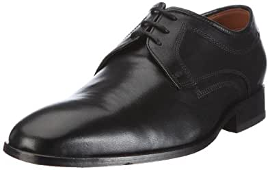 Clarks Dexie Plain 203485787060, Chaussures de ville homme - Noir (Black Leather), 39.5 EU