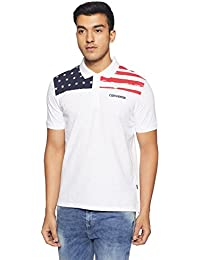 Converse Men's Printed Regular Fit Polo