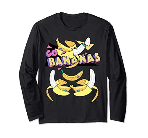 GO BANANAS! Langarmshirt - Geschälte Banane Kostüm