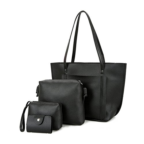 Pengyu Organizer borsa, Grey (grigio) - 776323 Black