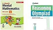 S. Chand's Mental Mathematics for Class 1&Reasoning Olympiad Class 1st(Set of