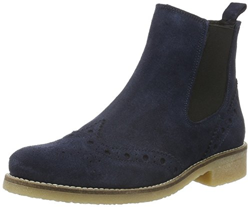 Spm Valla Chelsea Boot, Bottines à doublure froide femme Bleu - Bleu marine