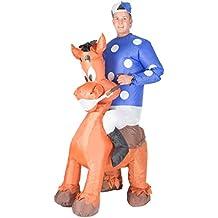 Hinchable Jockey Adulto Disfraz