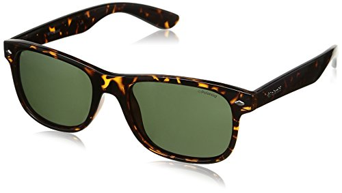 Polaroid occhiali da sole uomo, avana,