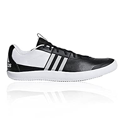 adidas Throwstar, Chaussures d'Athlétisme Homme, Noir (Cblack/Ftwwht/Hireor Cblack/Ftwwht/Hireor), 39 1/3 EU