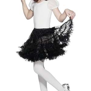 jupon enfant jupon noir enfant jupe en tulle petticoat noir tutu accessoire de costume. Black Bedroom Furniture Sets. Home Design Ideas