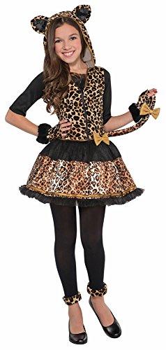 Wildkatze Sassy Kostüm für Mädchen - 12 bis 14 Jahre