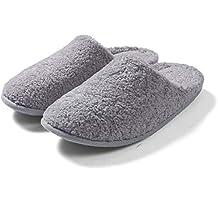 Générique Pantofole Ciabatte- Pantofole Unisex Adulto per l Inverno -Suola  Warm w a942dd8e6d8