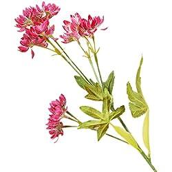 Cdrox 13 Jefes de la Margarita Flores Artificiales Ramos Falsas Falsas Flor Floral de la Boda Vector Decoración