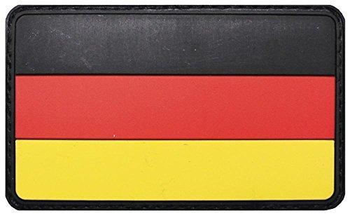 Parche velcro, Alemania, 3D, tamaño: 8 x 5 cm