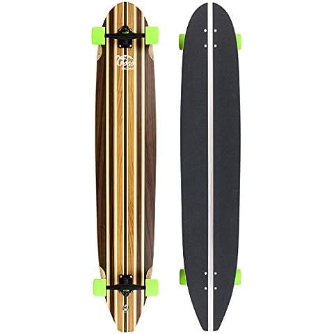 Pogo-Longboard soulcruiser 140, nogal/cereza Chapa de madera de arce, 140, 3039/7.628