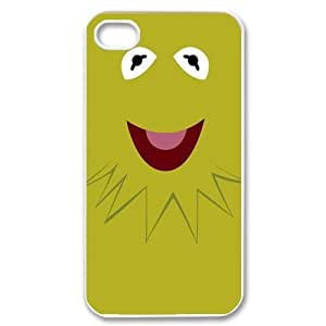 Custom The Muppets Kermit Design 3D Printed Protective Cover Case for iPhone 4 4S Casehome-02236