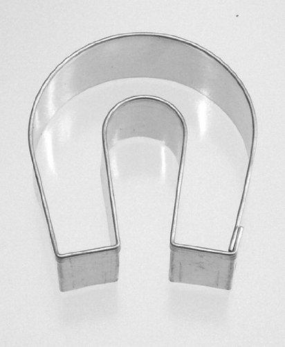 Keksausstecher Hufeisen 4,5 cm Weißblech r4