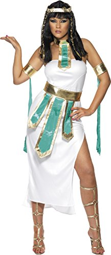 Smiffy's - Disfraz de egipcia para mujer, talla S (SM30454-S)