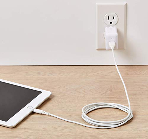 [Get Discount ] AmazonBasics Apple Certified Lightning to USB Charge and Sync Cable, 6 Feet (1.8 Meters) - White 41iLgTSv tL
