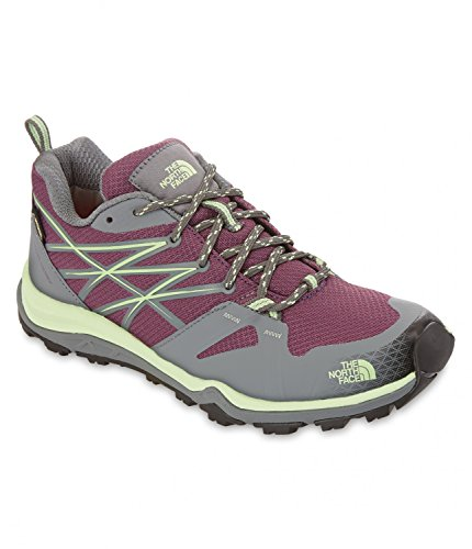 The North Face Damen W Hedgehog Fastpack Lite Gtx Sneakers Viola (Black Currant Purple/Paradise Green)