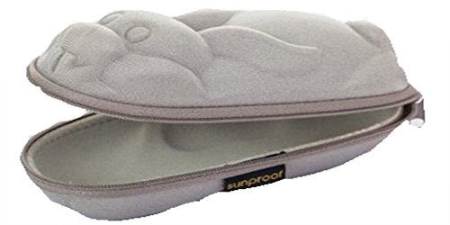 Sunproof Kids Silver Rabbit Hard Sunglasses / Glasses Storage Case - EU / UK